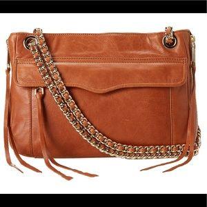 Rebecca Minkoff swing double chain shoulder bag